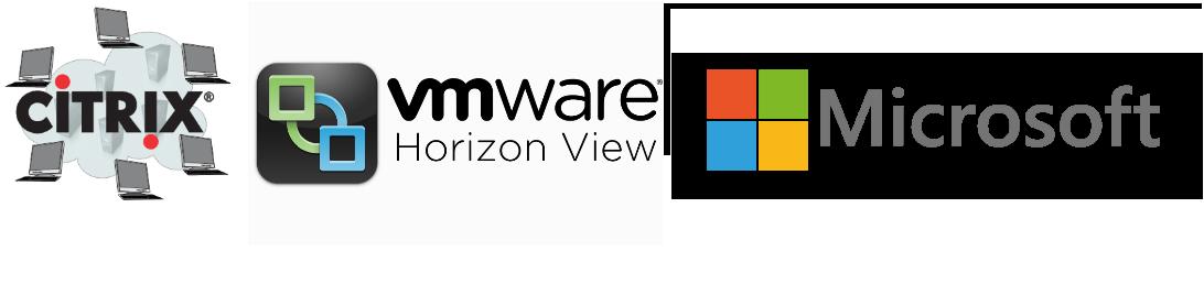 citrix vmware microsft